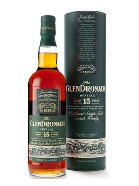 Picture of GlenDronach 15 Revival - 2015 Bottling