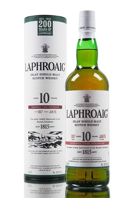 Picture of Laphroaig 10 Cask Strength - Batch 7