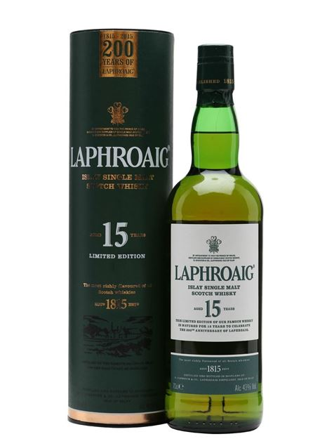Picture of Laphroaig 15 200th Anniversary Edition