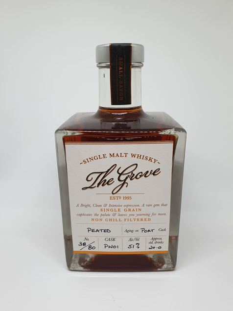 Picture of The Grove Release 1  Peated Port Cask Whisky