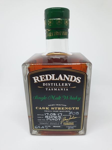 Picture of Redlands Distillery Cask Strength Pinot