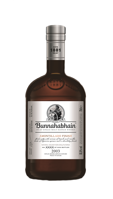 Picture of Bunnahabhain 2003 Amontillado Finish (Distillery Exclusive)