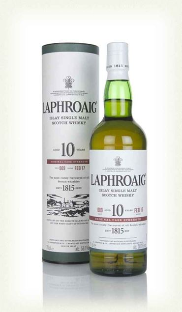 Picture of Laphroaig 10 Cask Strength - Batch 9