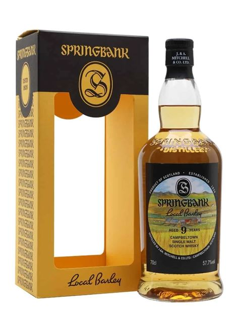 Picture of Springbank 9 Local Barley
