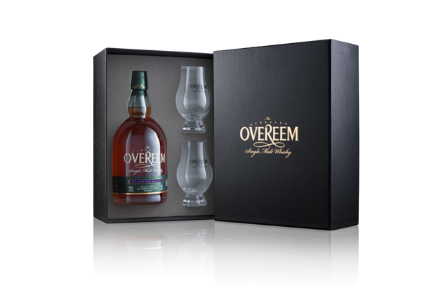 Overeem Red Wine Matured 'Rare Release' Single Malt Whisky 43% ABV 700ml
