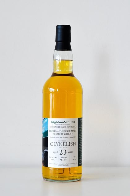 Picture of Highlander Inn - Clynelish 23 Year Old - 2019 Single Cask Bottling