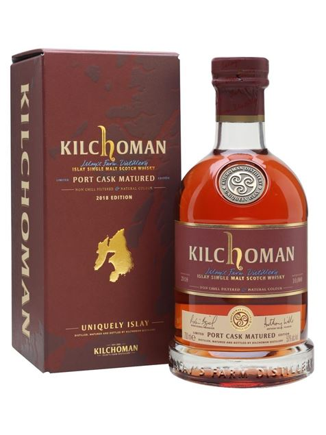 Picture of Kilchoman Port Cask Matured 2018